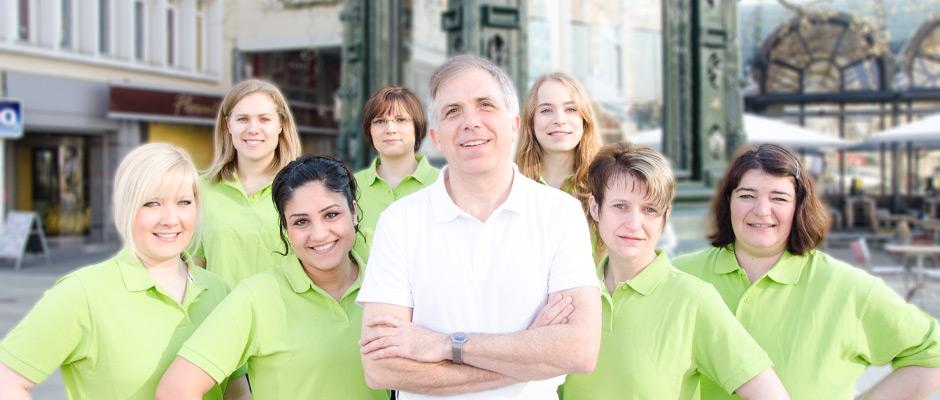 zahnarzt carrie team